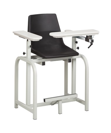 Value Series Extra Tall Blood Drawing Chair with Flip Arm CLI6011-P-
