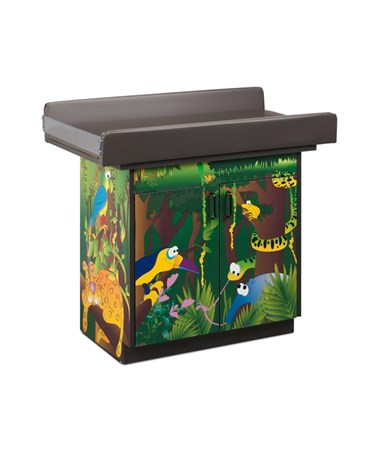 CLI67132- Imagination Series Pediatric Infant Blood Drawing Station - Rainforest