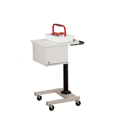 Two Bin Phlebotomy Cart