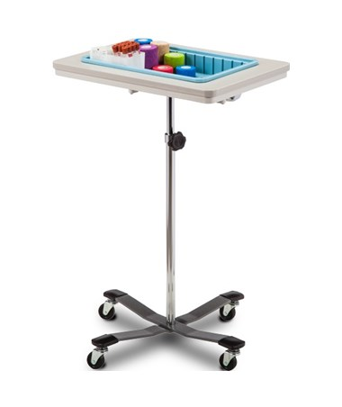 One-Bin Mobile Phlebotomy Stand CLI6901