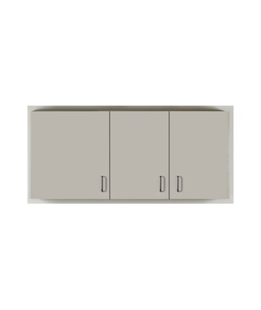 "CLI8254- Wall Cabinet with 3 Doors Copy - 60"" Cabinet Width"