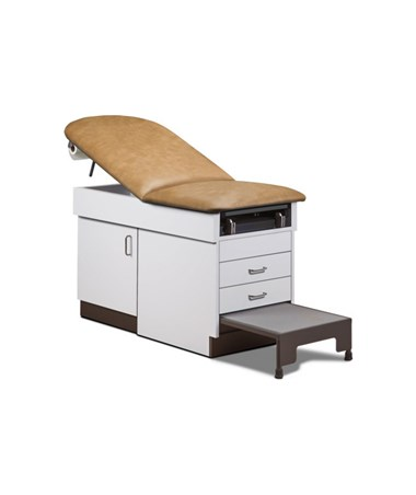 Family Practice Exam Table With Step Stool