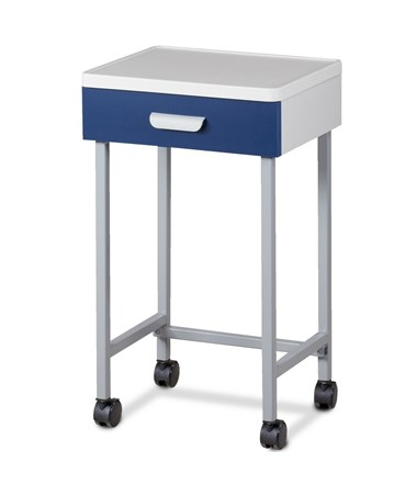 Molded top mobile auxiliary cart CLI8901-A