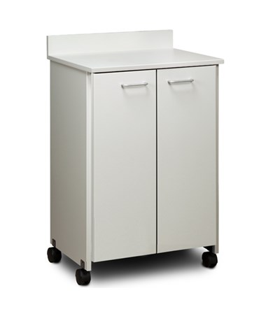 Clintonclean™ Mobile Treatment Cabinet with 2 Doors CLI8902-P
