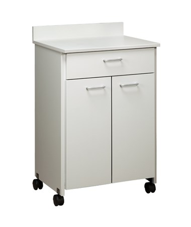 Clintonclean™ Mobile Treatment Cabinet with 2 Doors & 1 Drawer CLI8921-P