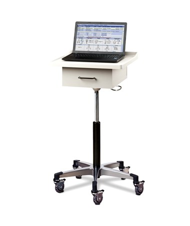 CLI9800- Compact Tec-Cart™ Mobile Work Station with Drawer - Clinton 9810 model