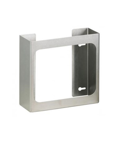 Single Stainless Steel Glove Box Holder CLIGS-3000