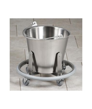 Stainless Steel Kick Bucket and Heavy Duty Frame CLISS-170