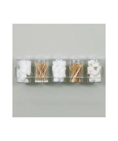 Clear Acrylic Wall Mount Jar Rack CLIT-88