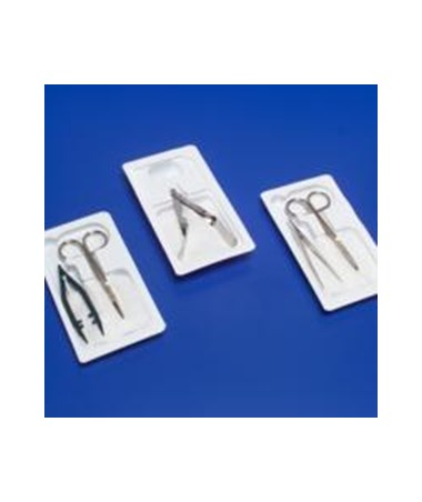 Suture Removal Kit, Littauer Scissors & Plastic Fine Point Forceps COV66100