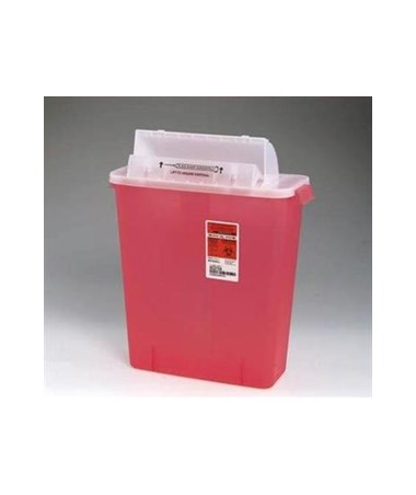 SharpStar™ 5 Quart, Sharps Container w/Counter Balanced Lid, 20/case Copy KEN8534SA-