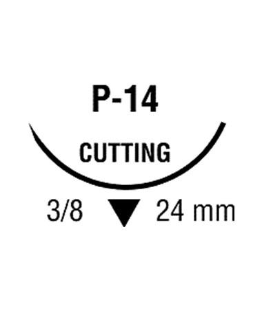 Novfil Monofilament Polybutester Suture, Size 4-0 COV8886441933