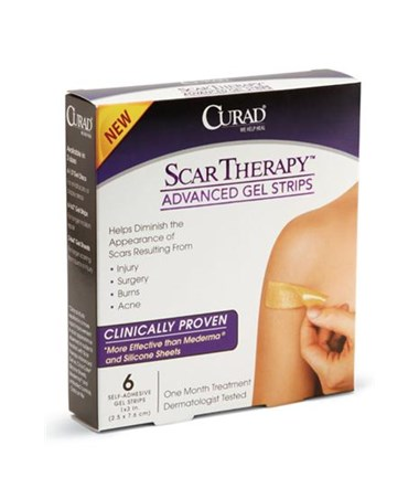 Curad Advanced Scar Therapy Gel Strips
