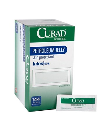 Curad Petroleum Jelly Foil Packets