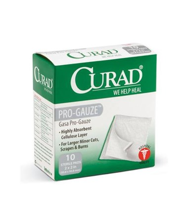 Sterile Pro-Gauze Pads CUR20422