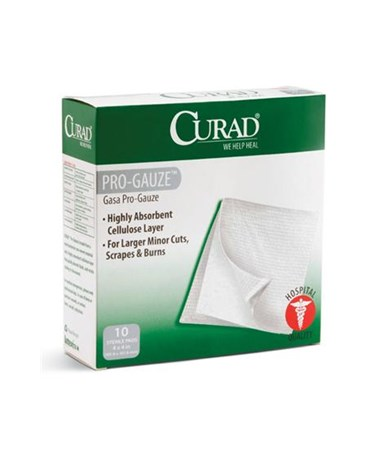Sterile Pro-Gauze Pads CUR20444