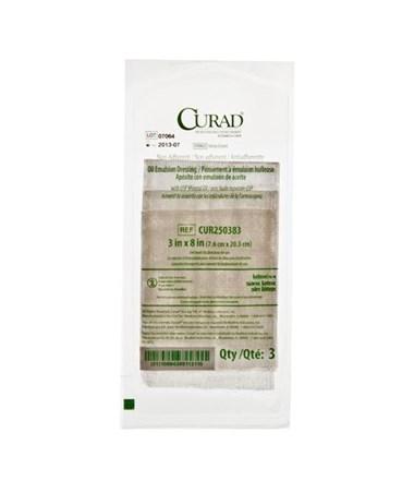 Curad Sterile Oil Emulsion Gauze CUR250383H