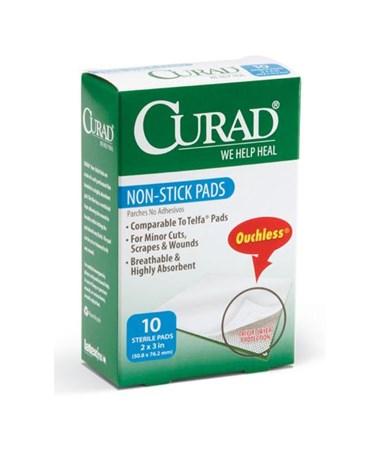 Sterile Non-Stick Gauze Pads CURCUR47395-