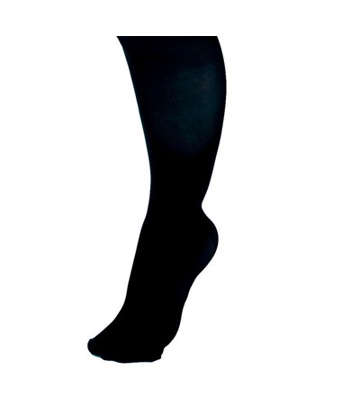 Curad Black 15-20 mmHg Knee Length Compression Hosiery