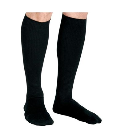 Black 8-15 mmHg Knee Length Compression Socks CURMDS1717ABH-
