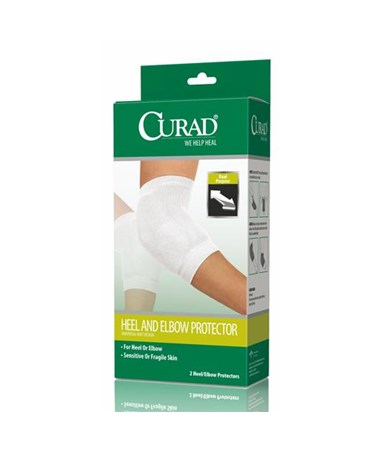 Curad Knit Heel and Elbow Protector