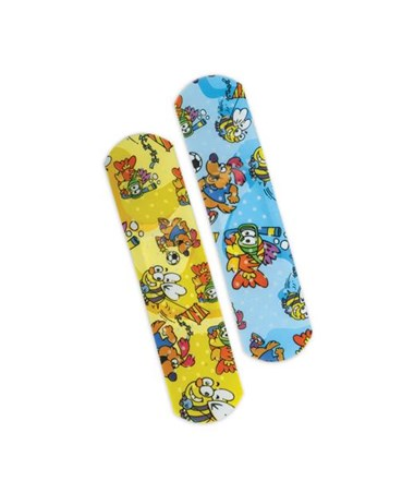 Medtoons Adhesive Bandages CURNON256130Z-