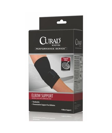 Elbow Sleeve with Compression Straps CURORT17300SDH-