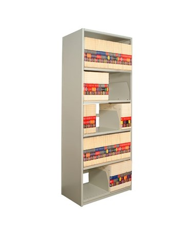 "4Post X-Ray Shelving 88-1/4"" High, 5 Openings DAT881824-S5-"