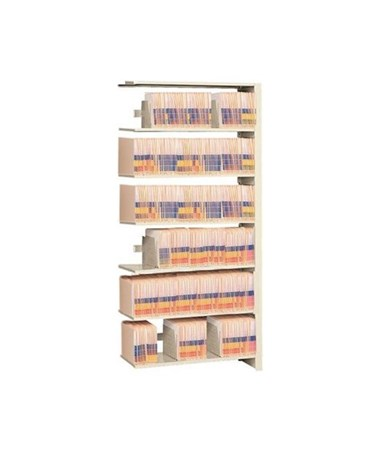"4 Post Double Entry Add-On Shelving 97-1/4"" High, 7 to 9 Tiers DAT972424-A7-"