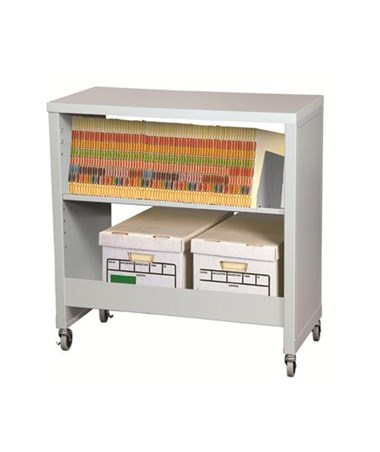 Datum FileCart™ Letter/Legal with Utility Shelf, Laminate Top, & End Panels