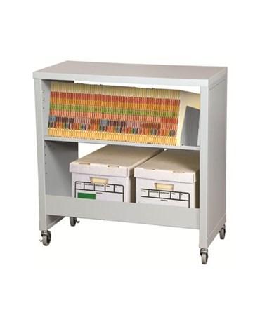 Datum FileCart™ Letter/Legal with Utility Shelf, Laminate Top, & End Panels