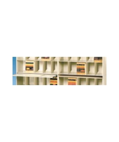 VuStak Posting Shelf for Letter Size Shelving with Straight Tiers DATD2412SOPS-
