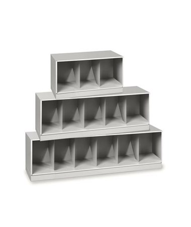 VuStak Legal Size Shelving with Straight Tiers DATD2415+D2415TB-