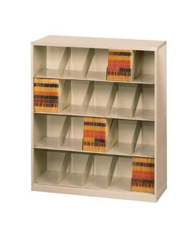 ThinStak™ Open Shelf Filing System - 4 Tiers Copy DATSO24LT-4 + DATSO24BT-2LTT-COPY