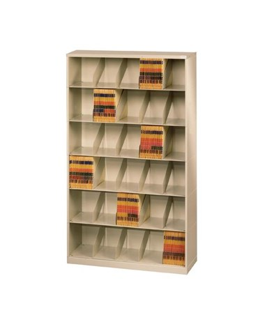 Datum ThinStak™ Letter-Size Open Shelf Filing System - 6 Tiers