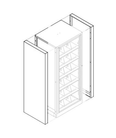 End Panel Kit for EZ2 Rotary DATXLT-5E