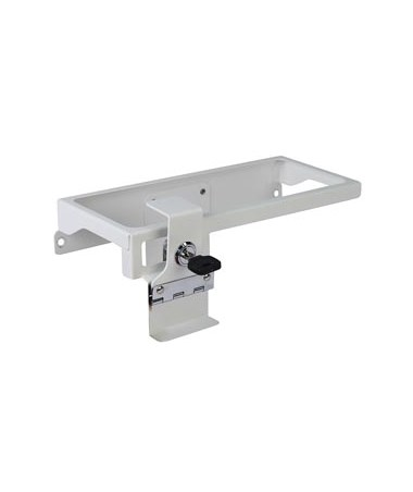 Sharps Container Holder w/ Accessory Rail for Whisper Medical Carts DETCAWCDSC