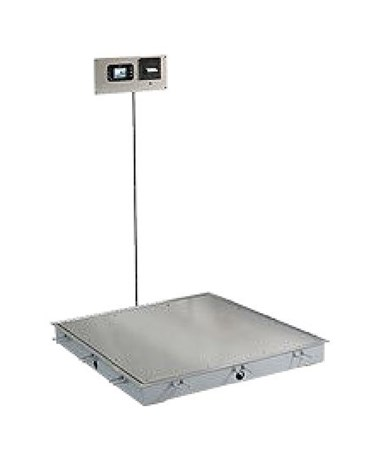 DETID-3636S-855RMP- Solace In-Floor Dialysis Scale -  Without Handrail