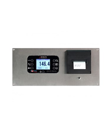 DETID-3636S-855RMP- Solace In-Floor Dialysis Scale - Digital Weight Indicator/Printer Combo