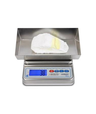 Detecto Wet Diaper Scale - Lap Sponge Scale front