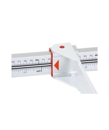 DORDS1125 - Infant Measuring Rod - Bright Red Line