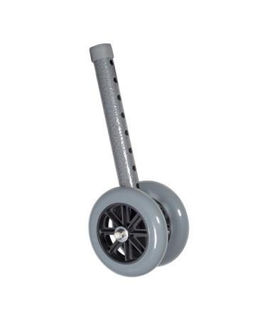 """""""Drive 10118SV Heavy Duty Bariatric Walker Wheels, Silver vein"""""""