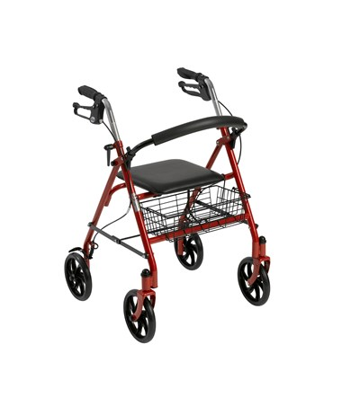 Drive 10257RD-1 Steel 4-Wheel Rollator