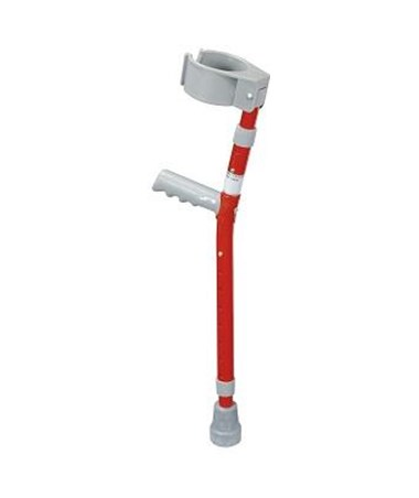 Drive 10403 Steel Forearm Crutches