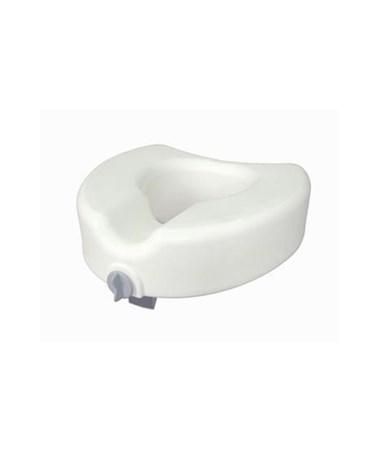 Drive 12014 Premium Plastic Elevated Toilet Seat