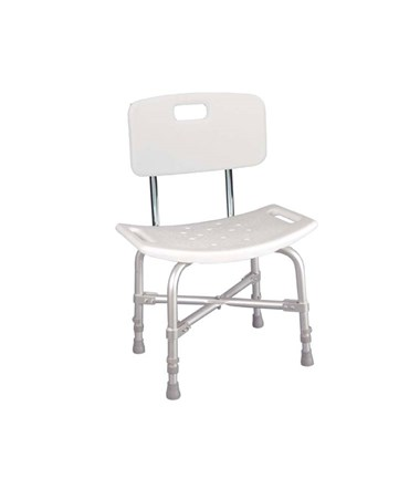 """Drive 12021KD-1 Deluxe Bariatric Bath Bench With Backrest"""