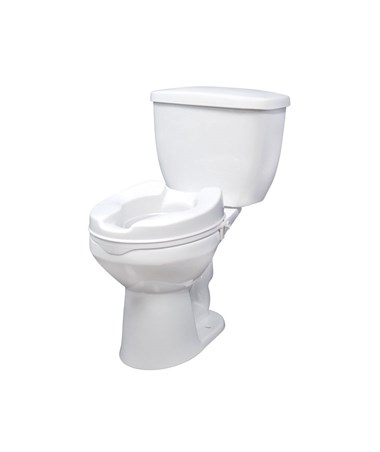 """Drive 12062 Raised Toilet Seat without Lid - 2 Inch"""