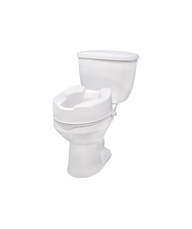 """Drive 12066 Raised Toilet Seat without Lid - 6 Inch"""