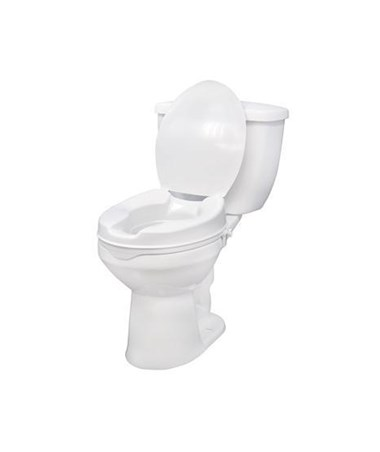 Drive 12063 Raised Toilet Seat With Lid