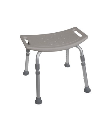 """Drive 12203KDR Bath Bench without Back White"""